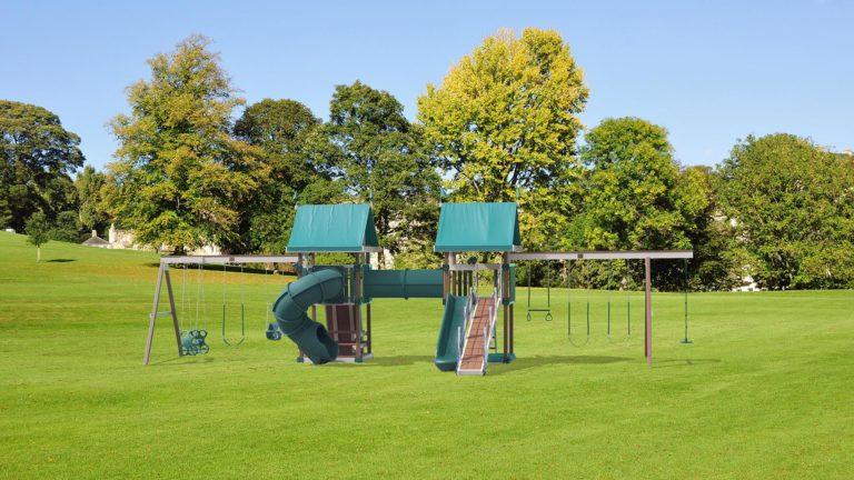 Outdoor Meeting Ground Swing Set