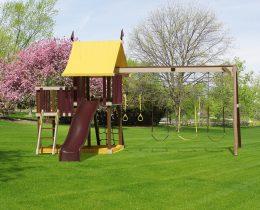 Outdoor Delight Swing Set