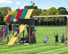 Backyard Retreat Swing Set